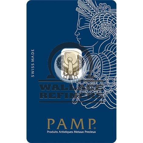 1 Gram PAMP Suisse Fortuna Veriscan Gold Bar (New w/ Assay)