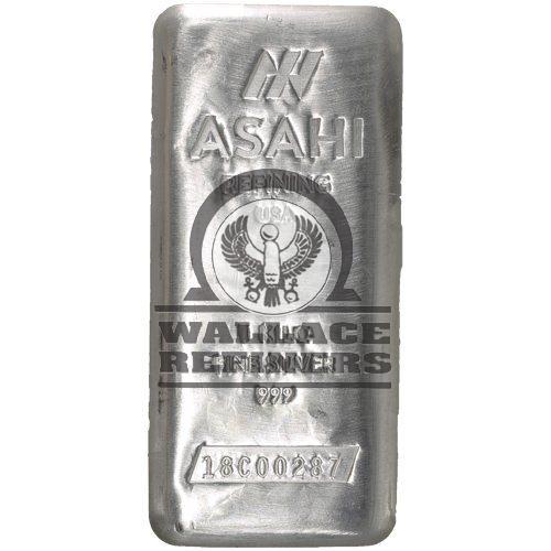 1 Kilo Asahi Silver Bar (New)