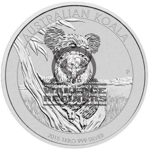1 Kilo Australian Silver Koala Coin (Random Year