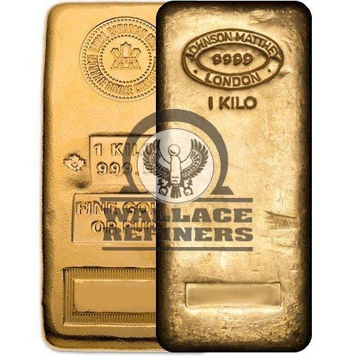 1 Kilo Gold Bar (Varied