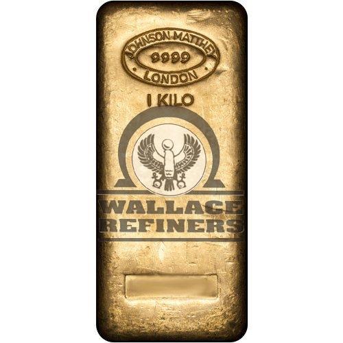 1 Kilo Johnson Matthey Gold Bar