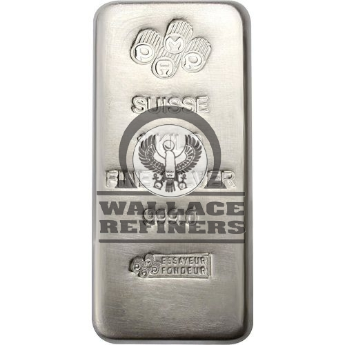 1 Kilo PAMP Suisse Silver Bar (New