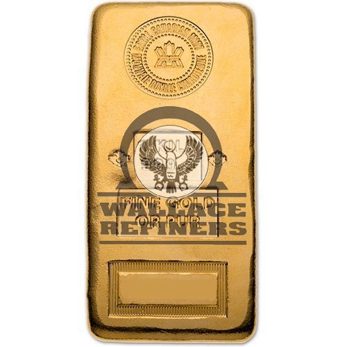 1 Kilo (RCM) Royal Canadian Mint Gold Bar