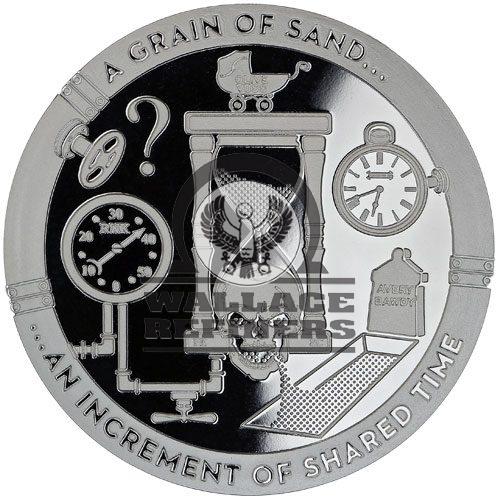 1 oz A Grain of Sand Silver Round (T.I.M.E. Series #2