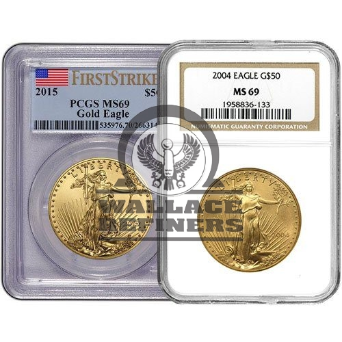 1 oz American Gold Eagle MS69 (Random Year