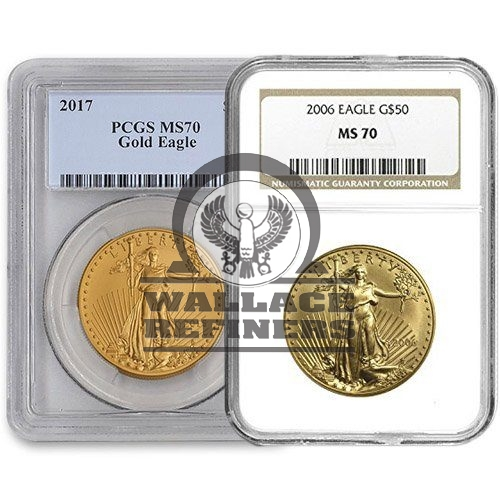 1 oz American Gold Eagle MS70 (Random Year