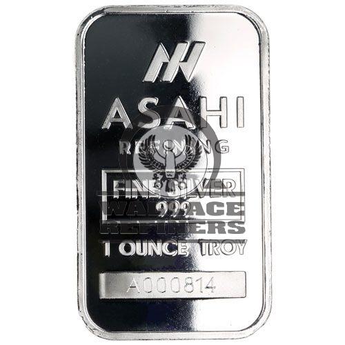1 oz Asahi Silver Bar (New)