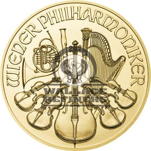 1 oz Austrian Gold Philharmonic Coin (Random Year