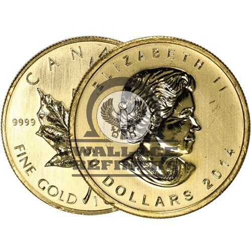 1 oz Gold Maple Leaf (Random Year
