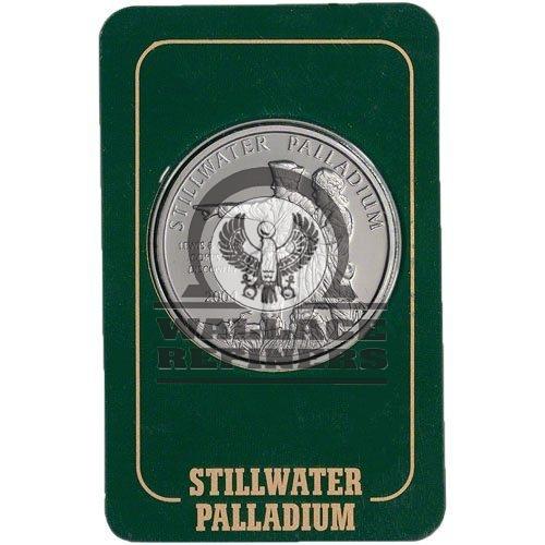 1 oz Johnson Matthey Stillwater Palladium Round