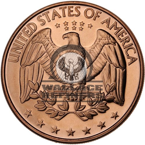 1 oz US Quarter Copper Round (New)