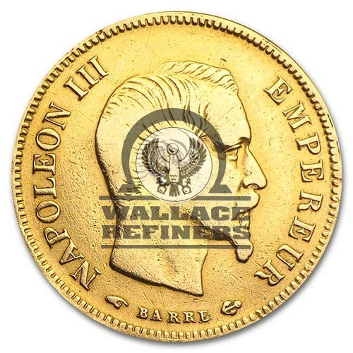 10 Francs France Gold Coin – Napoleon III (Circulated)