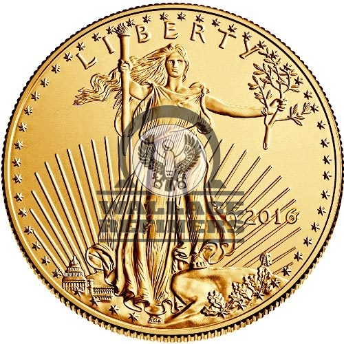 1/2 oz American Gold Eagle Coin (Random Year