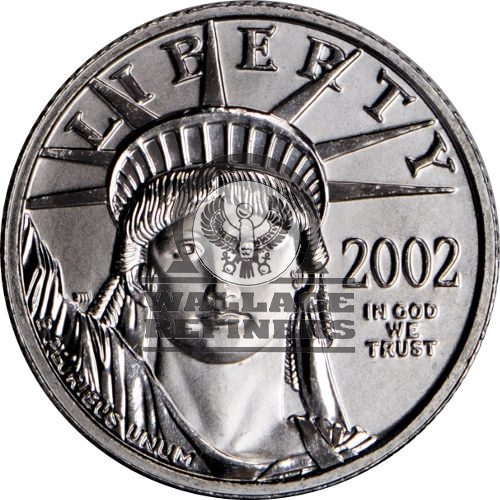 1/2 oz American Platinum Eagle Coin (Random Year