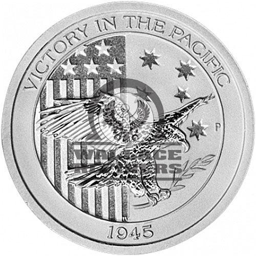 1/2 oz Australian Victory In The Pacific Silver Coin (BU)