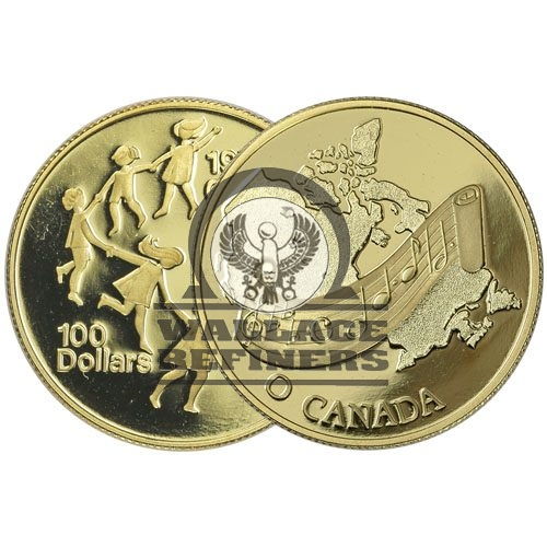 1/2 oz Canadian Gold Commemorative (Random)