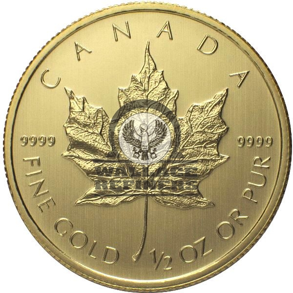 1/2 oz Canadian Gold Maple Leaf (Random Year