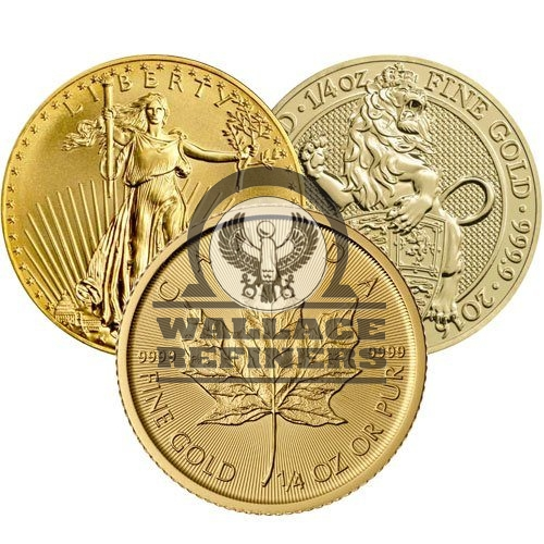 1/4 oz Gold Coin (Varied Condition