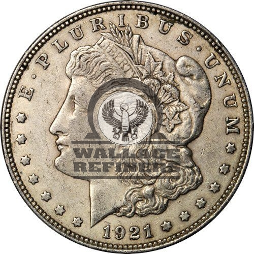 1921 Morgan Silver Dollar Coin (VG+)