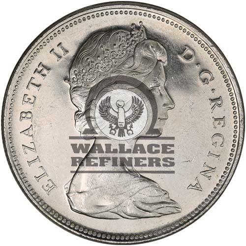 1958-1967 Canada Silver Dollar (AU+)