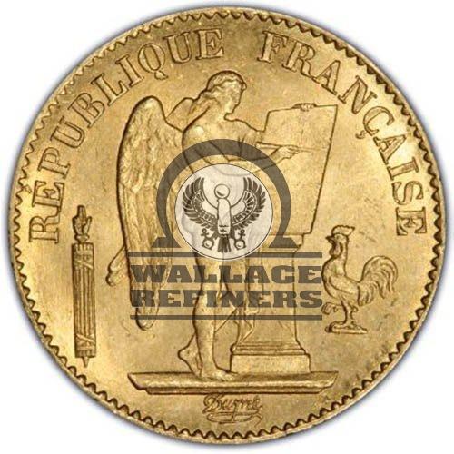 20 Francs France Gold Coin – Lucky Angel (AU)