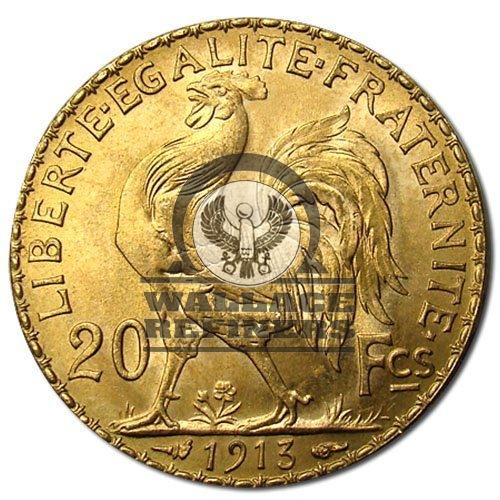20 Francs France Gold Coin – Rooster (BU)