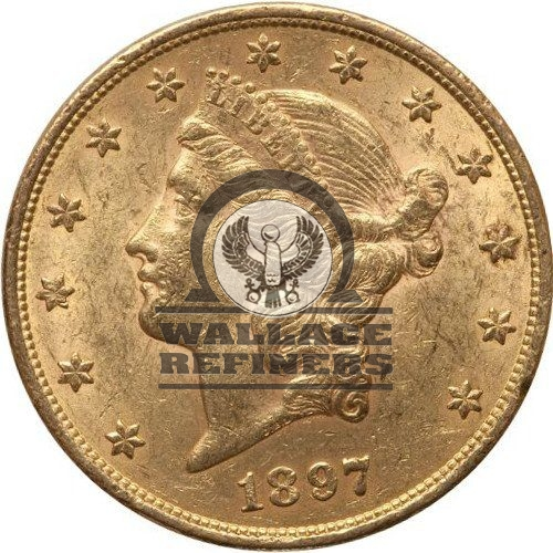 $20 Liberty Gold Double Eagle Coin AU (Random Year)
