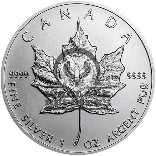 2004 1 oz Canadian Silver Maple Leaf Coin (BU)