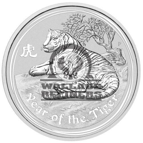 2010 1 Kilo Australian Silver Lunar Tiger Coin (BU)