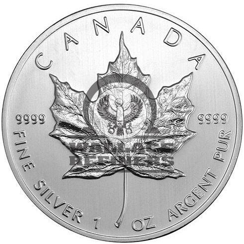 2010 1 oz Canadian Silver Maple Leaf Coin (BU)
