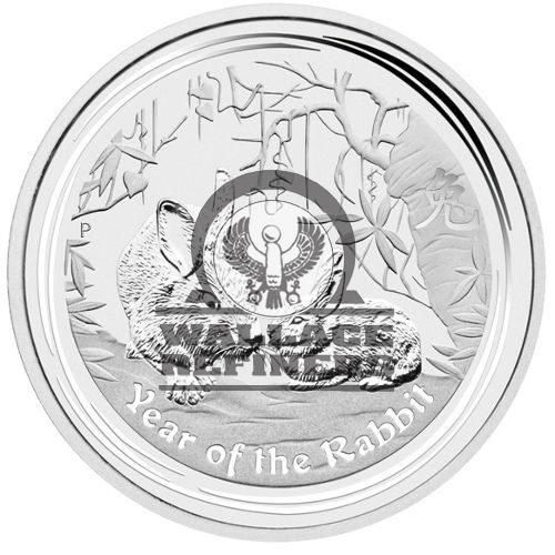 2011 1 Kilo Australian Silver Lunar Rabbit Coin (BU)