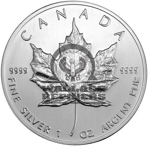 2011 1 oz Canadian Silver Maple Leaf Coin (BU)