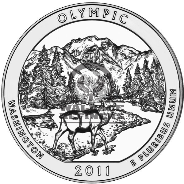 2011 5 oz ATB Olympic Silver Coin
