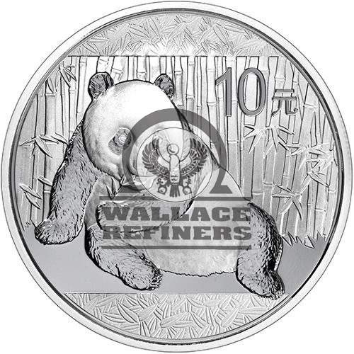 2015 1 oz Chinese Silver Panda Coin (BU)