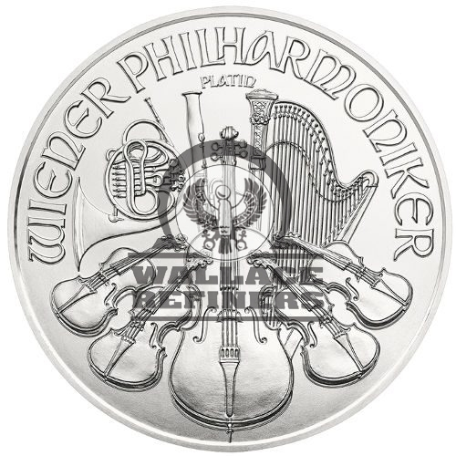 2016 1 oz Austrian Platinum Philharmonic Coin (BU)