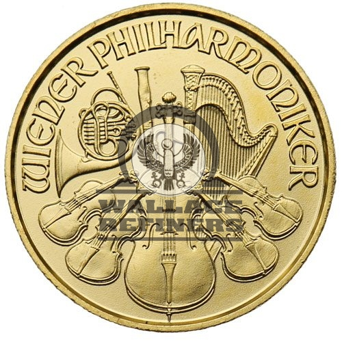 2016 1/25 oz Austrian Gold Philharmonic Coin (BU)