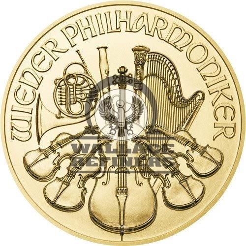 2017 1/4 oz Austrian Gold Philharmonic Coin (BU)