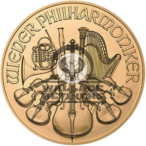 2018 1/4 oz Austrian Gold Philharmonic Coin (BU)