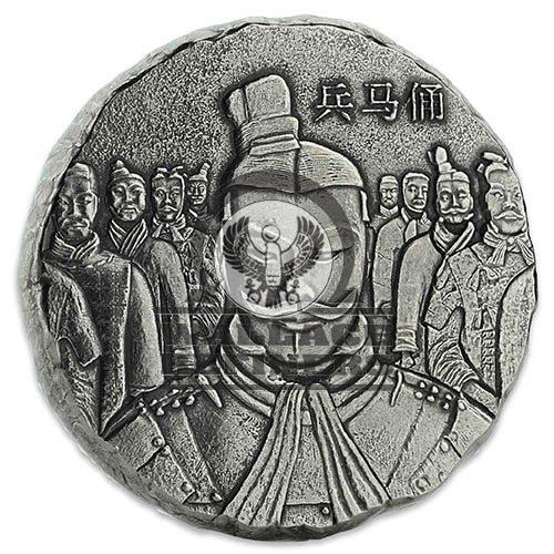 2018 5 oz Fiji Terracotta Silver Coin (BU)