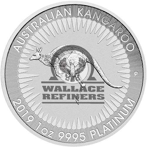2019 1 oz Australian Platinum Kangaroo Coin (BU)