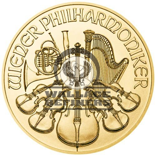 2019 1 oz Austrian Gold Philharmonic Coin (BU)