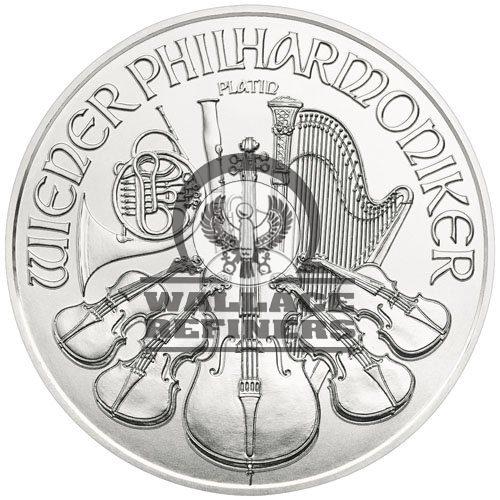 2019 1 oz Austrian Platinum Philharmonic Coin (BU)