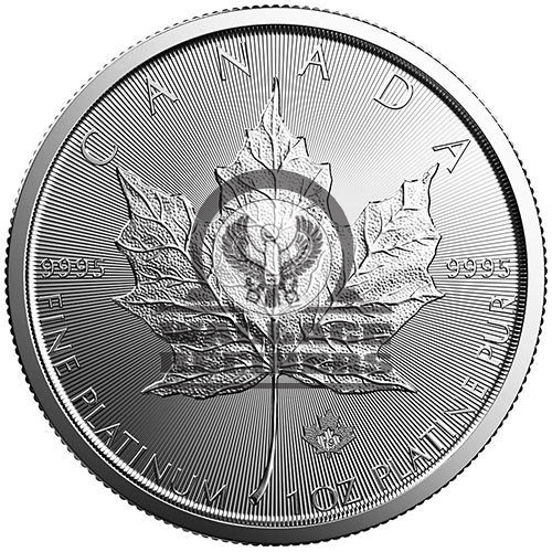 2019 1 oz Canadian Platinum Maple Leaf Coin (BU)