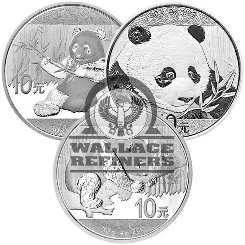 30 Gram Chinese Silver Panda Coin (Random Year)