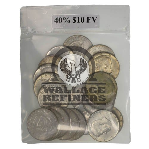 40% Silver Coins ($10 FV)
