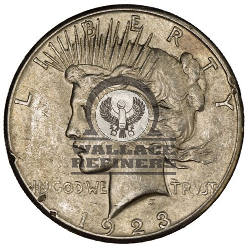 Peace Silver Dollar Coin (Cull)