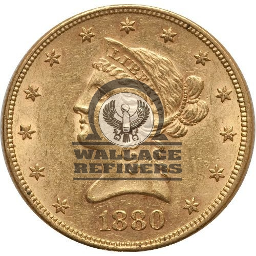 Pre-33 $10 Liberty Gold Eagle Coin (AU)