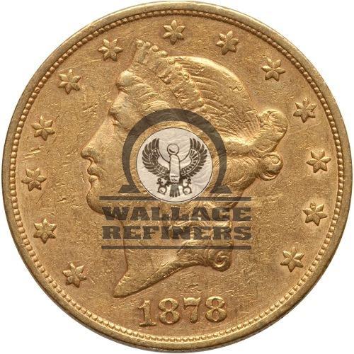 Pre-33 $20 Liberty Gold Double Eagle (VF)