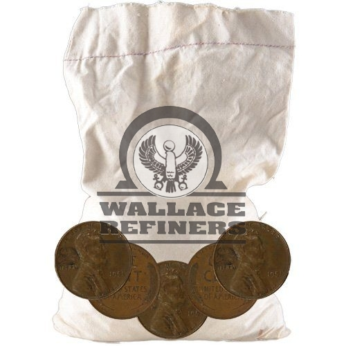 Wheat Pennies 5 Pound Mixed Bag