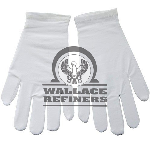 White Cotton Gloves (Medium Pair)